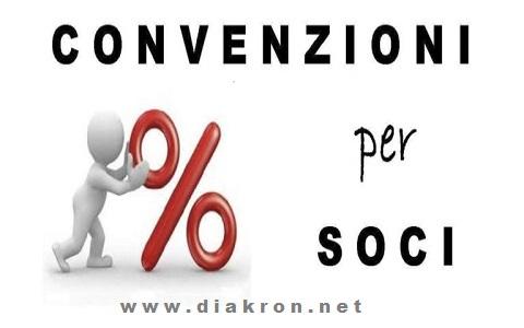 Convenzioni Sconti Soci Diakron Cralnetwork